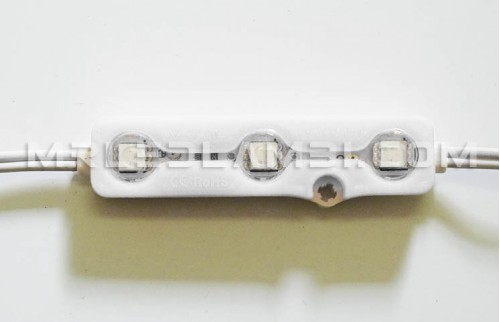 LED МОДУЛ 3LED SMD5050 6000K IP67