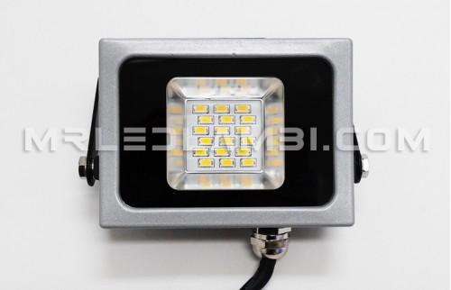 led прожектор 10w сиво тяло