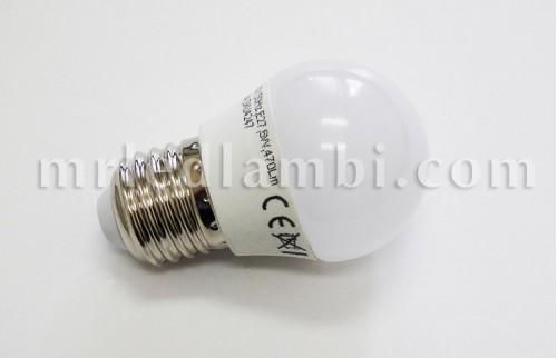 6W LED КРУШКА E27 G45