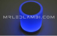 3w led настолна лампа колона rgb / бяло