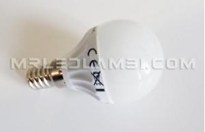 4W LED КРУШКА E14 P45