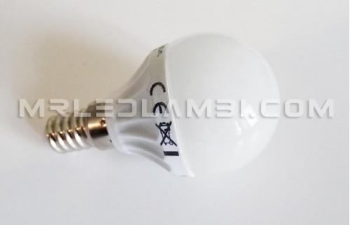 3W LED КРУШКА E14 P45