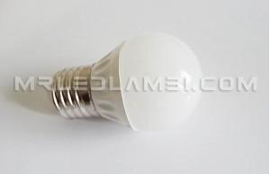 4W LED КРУШКА E27 G45
