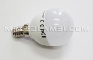 6W LED КРУШКА E14 P45