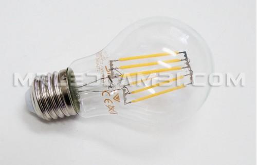 6W LED КРУШКА E27 A60 FILAMENT