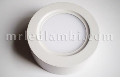 led панел външен монтаж кръгъл 22w