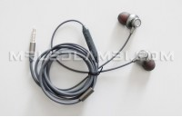 аудио слушалка сива