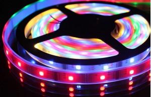 LED ЛЕНТА SMD 5050 RGB 60/1