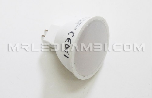 7W LED СПОТ 12V GU5.3 SMD ПЛАСТИК